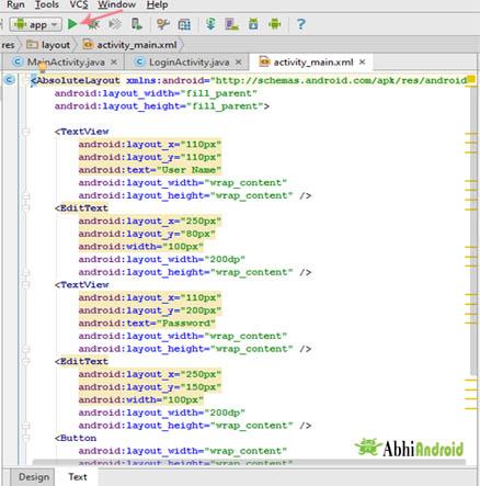 Run app in AVD in android studio