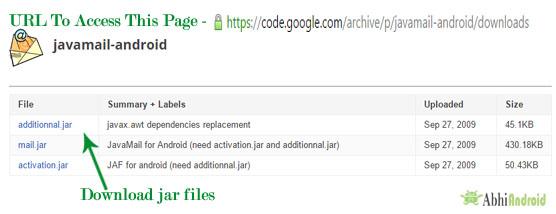 Download Jar Files Android Studio