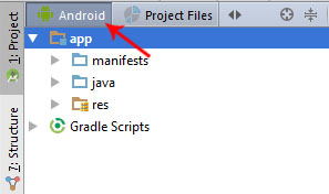 android option android studio