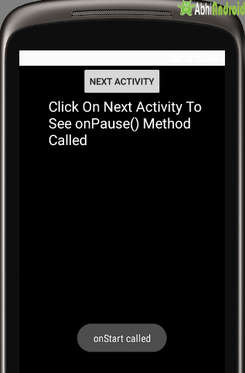 android   how to detect which activity lead to my activity onPause     Here is an annotated image for the activity life cycle