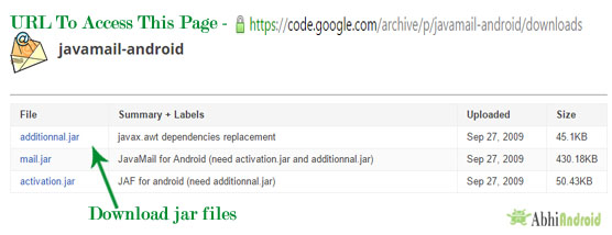 Download Jar Files Android Studio