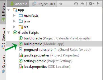 change sdk api level in build gradle android studio