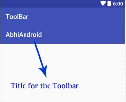 title-for-the-toolbar-in-android-studio