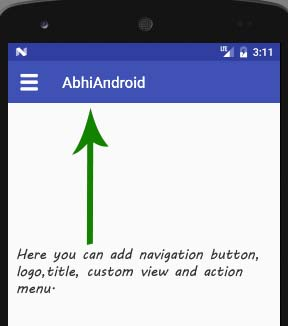 toolbar-elements-in-android-studio