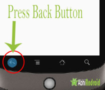 press back button Activity Lifecycle
