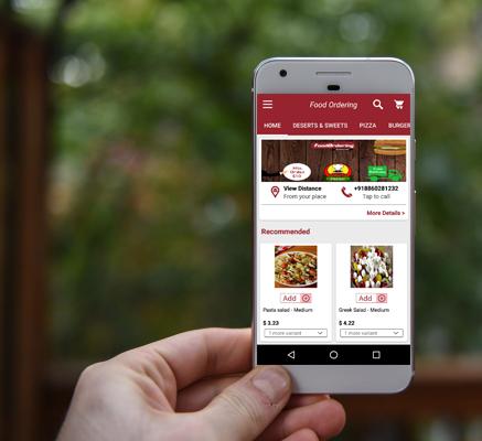 Food Ordering App Preview