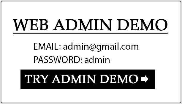 Food Ordering Restaurant Web-Admin-Demo