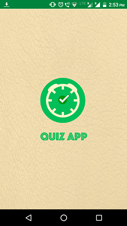 Quiz Game App Splash Screen