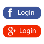 Social Facebook Google Login