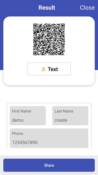 QR barcode screenshot17