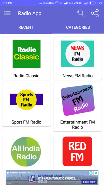 Radio Streaming App Screenshot 12