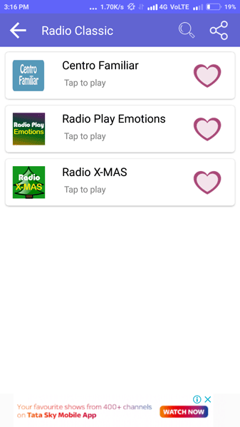 Radio Streaming App Screenshot 4