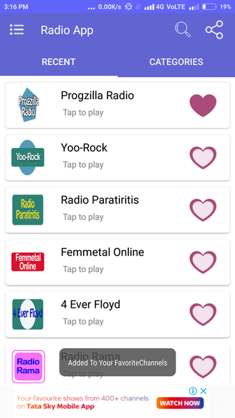 Radio Streaming App Screenshot 8