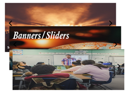 Banners website image