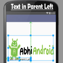 alignParentLeft in Android Relative Layout