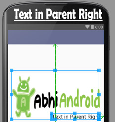 alignParentRight in Relative Layout Android
