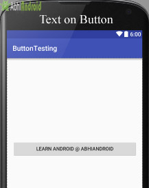 Setting Text on Button in Android