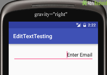 EditText Tutorial With Example In Android Studio: Input Field
