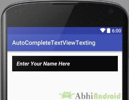 Background and Padding in AutoCompleteTextView Android