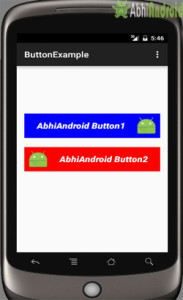 Button Example in Android Studio