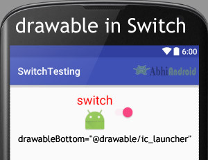 drawable in Switch Android