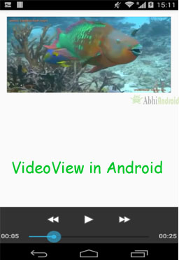 VideoView Tutorial With Example In Android Studio