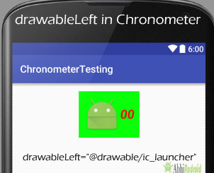drawable in Chronometer Android