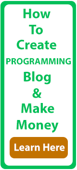 Create Programming Blog Banner